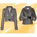 Dámské kožené sako