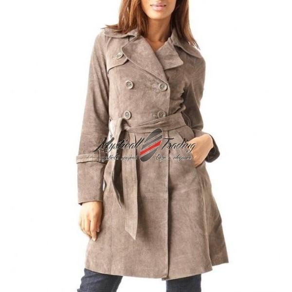 Dámský kožený kabát - Orient Mysticall Trading 7d412a146d5