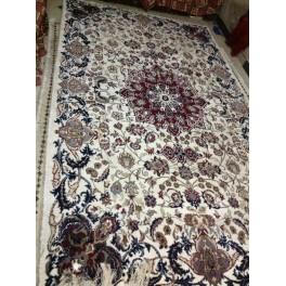 Orientální koberec hedvábno-vlněný